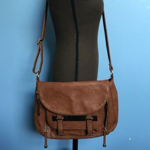 Call It Spring Vegan Leather Crossbody Bag